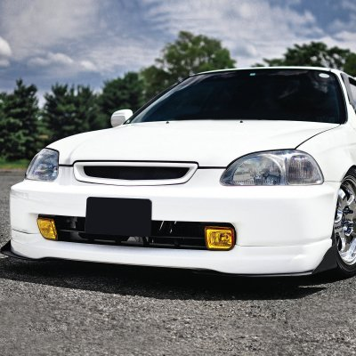 Honda Civic 1996-1998 Yellow Fog Lights Kit