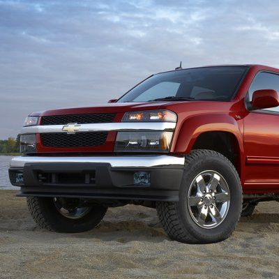 Chevy Colorado 2004 2017 Smoked Fog Lights