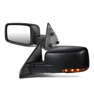 Dodge Ram 1500 2013-2017 Power Heated LED Signal Side Mirrors
