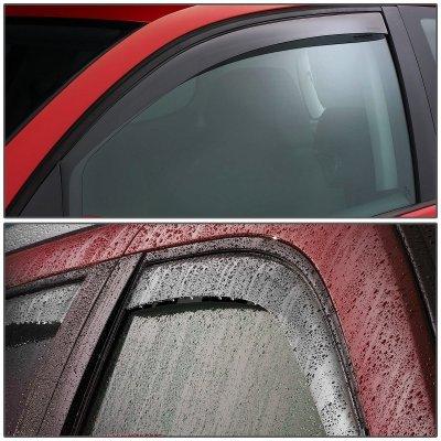 Mazda B2500 1998-2001 Tinted Side Window Visors Deflectors