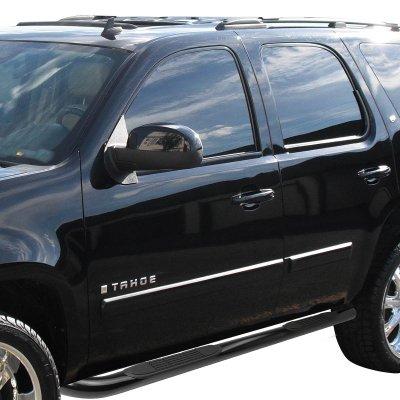 Cadillac Escalade 2007-2014 Black Nerf Bars