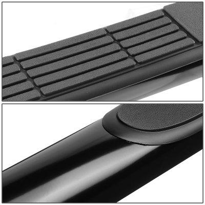 Buick Enclave 2008-2009 Black Nerf Bars