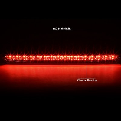 Chevy Tahoe 2007-2014 Clear LED Third Brake Light