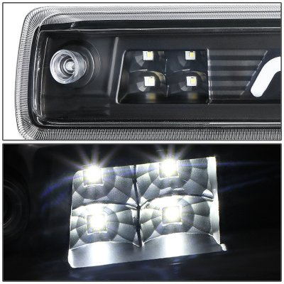 Chevy Colorado 2015-2020 Black Tube LED Third Brake Light