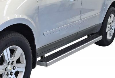 Buick Enclave 2007-2009 iBoard Running Boards Aluminum 5 Inch