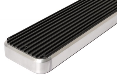 GMC Envoy 2002-2009 iBoard Running Boards Aluminum 4 Inch