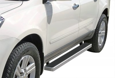 GMC Envoy 2002-2009 Running Boards Step Bars Aluminum 4 Inch