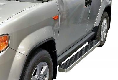 Honda Element 2003-2011 iBoard Running Boards Aluminum 4 Inch