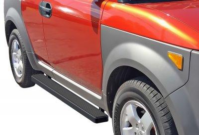 Honda Element 2003-2011 iBoard Running Boards Black Aluminum 5 Inch