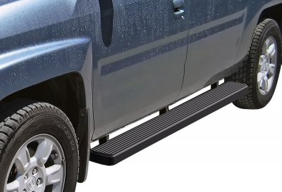 Honda Ridgeline 2006-2015 iBoard Running Boards Black Aluminum 5 Inch