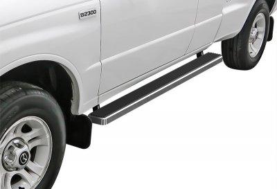 Mazda B2300 Extended Cab 2001-2010 iBoard Running Boards Aluminum 4 Inch