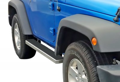 Jeep Wrangler TJ 1997-2006 Running Boards Step Bars Aluminum 5 Inch