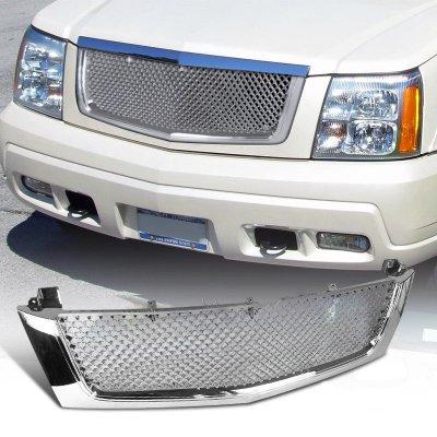 Cadillac Escalade 2002-2006 Chrome Mesh Grille