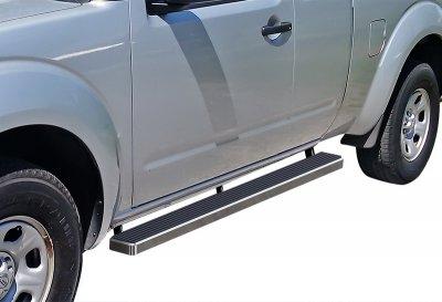 Suzuki Equator Extended Cab 2005-2012 iBoard Running Boards Aluminum 4 Inch