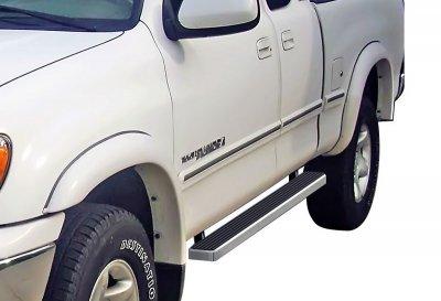 Toyota Tundra Access Cab 2000-2006 iBoard Running Boards Aluminum 4 Inch