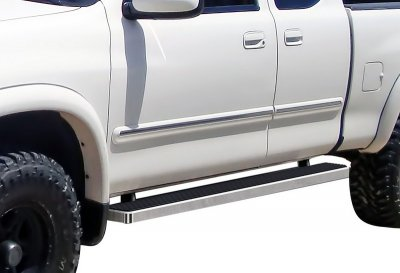Toyota Tundra Access Cab 2000-2006 iBoard Running Boards Aluminum 5 Inch