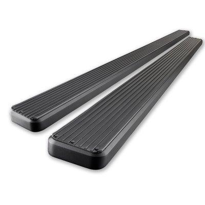 Toyota Tundra Access Cab 2000-2006 iBoard Running Boards Black Aluminum 4 Inch