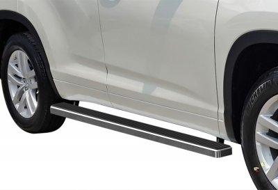 Lexus RX400h 2006-2009 iBoard Running Boards Aluminum 4 Inch
