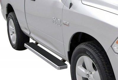 Dodge Ram Regular Cab 2009-2018 iBoard Running Boards Aluminum 5 Inch