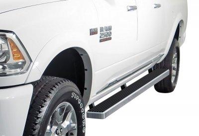 Dodge Ram 2500 Mega Cab 2010-2018 iBoard Running Boards Aluminum 4 Inch