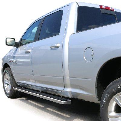 Dodge Ram Crew Cab 2009-2018 iBoard Running Boards Aluminum 4 Inch