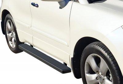 Acura MDX 2007-2010 iBoard Running Boards Black Aluminum 5 Inch