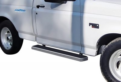 Ford F150 Regular Cab 1980-1996 Running Boards Step Bars Aluminum 5 Inch