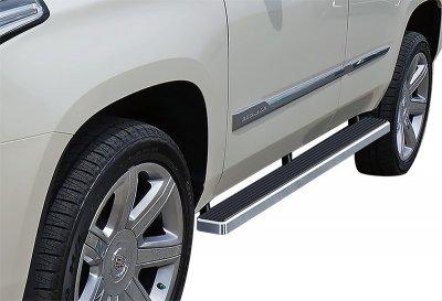 Cadillac Escalade 2001-2006 iBoard Running Boards Aluminum 4 Inch
