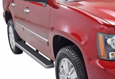 Cadillac Escalade 2001-2006 iBoard Running Boards Aluminum 5 Inch