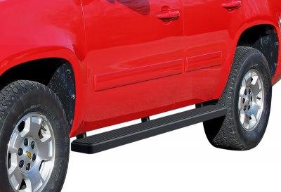 Cadillac Escalade 2007-2014 iBoard Running Boards Black Aluminum 5 Inch