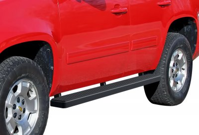 GMC Yukon 2007-2014 iBoard Running Boards Black Aluminum 5 Inch