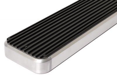 Chevy Suburban 2000-2006 iBoard Running Boards Aluminum 4 Inch