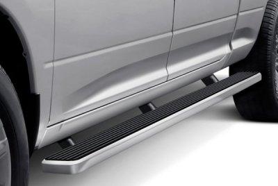 Dodge Ram 1500 Crew Cab Short Bed 2009-2018 Wheel-to-Wheel iBoard Running Boards Aluminum 5 Inch