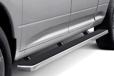 Dodge Ram 1500 Crew Cab Short Bed 2009-2018 Wheel-to-Wheel iBoard Running Boards Aluminum 6 Inch