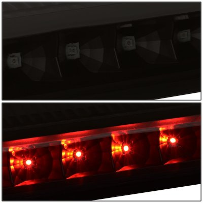 Chevy Express 2003-2021 Black Smoked LED Third Brake Light