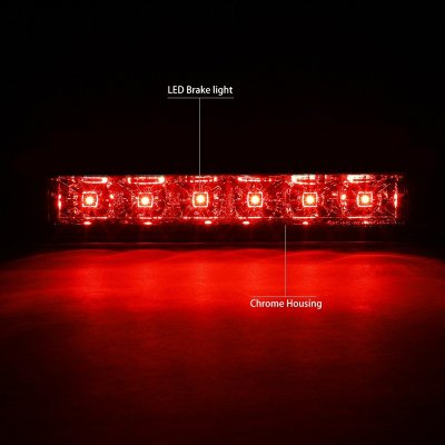 Chevy Express 2003-2021 Clear LED Third Brake Light