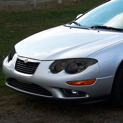 Chrysler 300m 1999 2004 Smoked Headlights