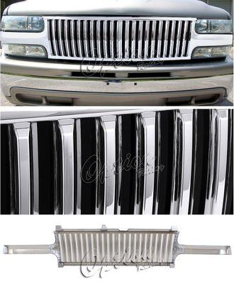 Chevy Silverado 1999-2002 Chrome Vertical Grille