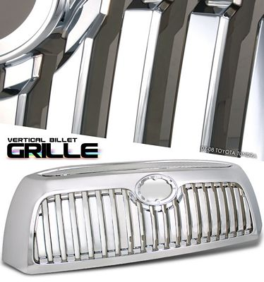 Toyota Tundra 2007-2009 Chrome Vertical Grille