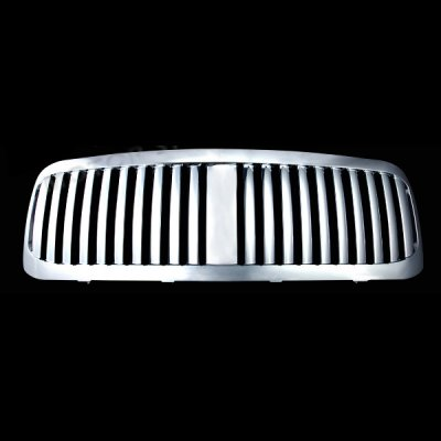 Ford F350 Super Duty 1999-2004 Chrome Vertical Grille