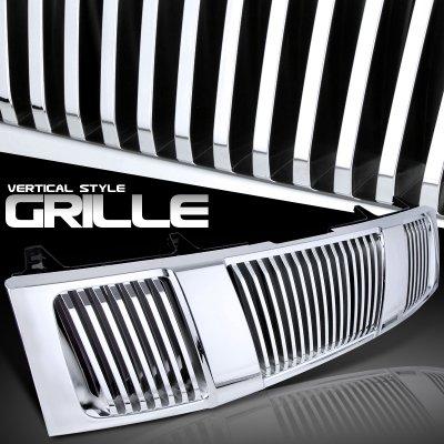 Nissan Titan 2004-2007 Chrome Vertical Grille