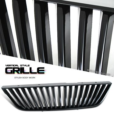 Ford Mustang 1999-2004 Black Vertical Grille