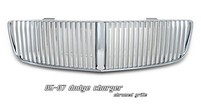 Dodge Charger 2006-2010 Chrome Vertical Grille