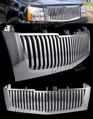 Cadillac Escalade 2002-2006 Chrome Vertical Grille