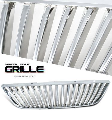 Ford Mustang 1999-2004 Chrome Vertical Grille