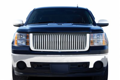 GMC Sierra 2007-2013 Chrome Vertical Grille