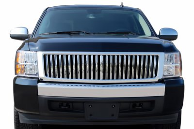 Chevy Silverado 2007-2013 Chrome Vertical Grille