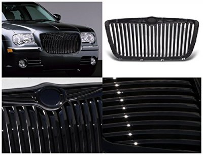 Chrysler 300C 2005-2010 Black Vertical Grille