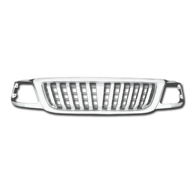 Ford F150 1999-2003 Chrome Vertical Bar Grille