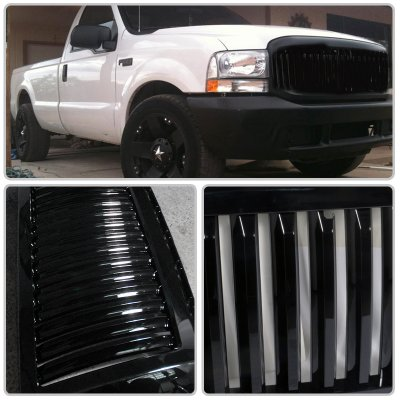 ford f250 super duty 1999 2004 black vertical grille a122717w152 topgearautosport ford f250 super duty 1999 2004 black vertical grille